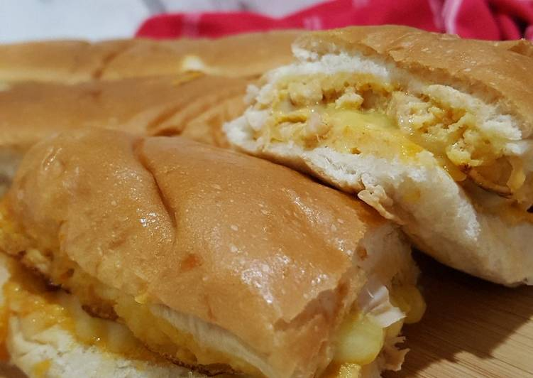 Resepi:  Roti John Sempoi #perak #rayahiteapertama  Lazat