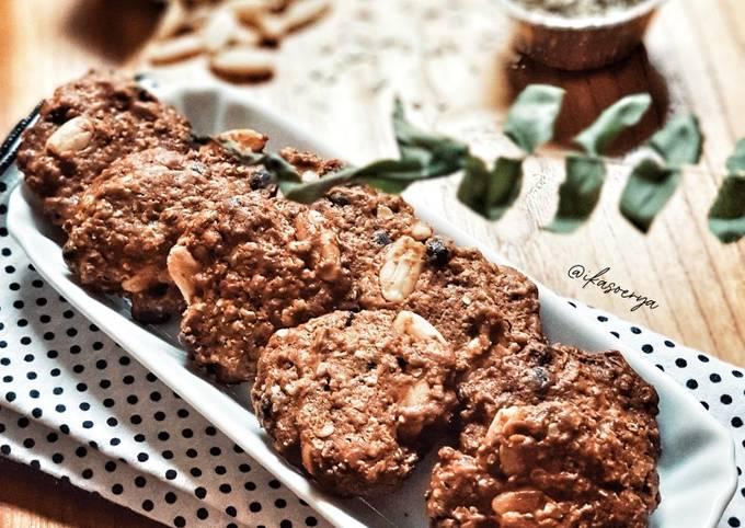 Walnuts Oatmeal Cookies