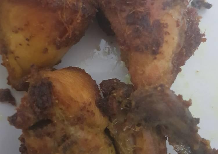 Ayam Ungkep Goreng Manis