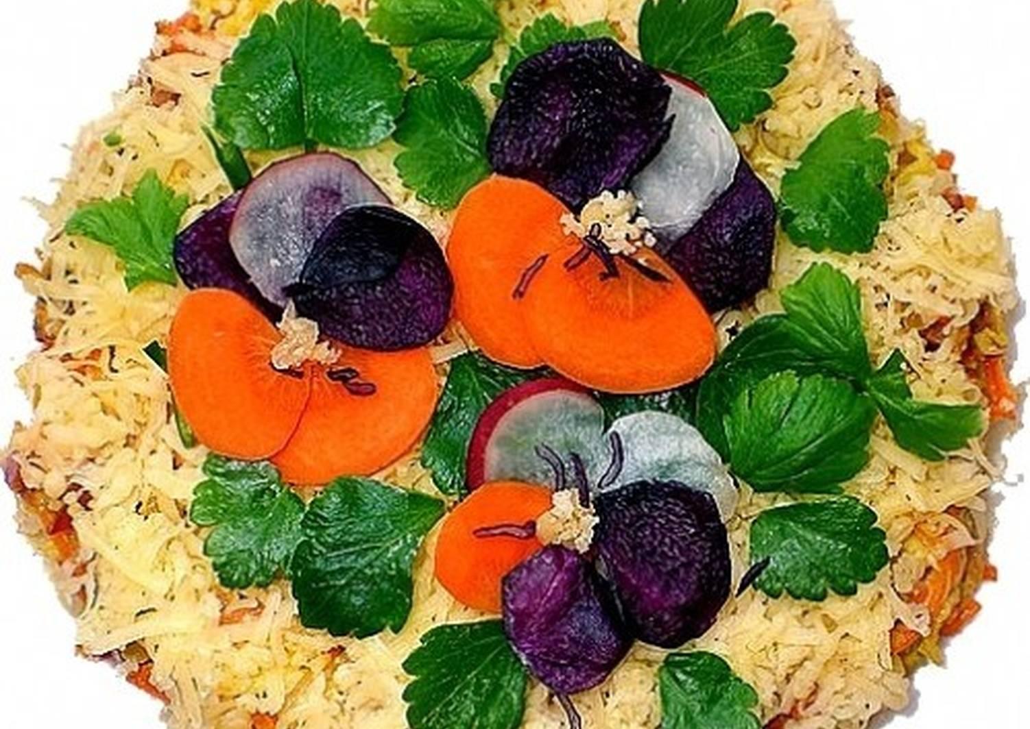 более мелкие украшение салатов в картинках бесплатно широкоформатные обои
