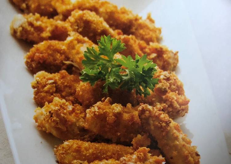 Recipe of Award-winning Homemade Chicken Fingers