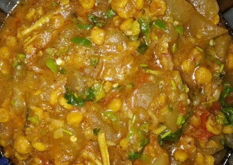 Recipe of Perfect Louki chana Daal