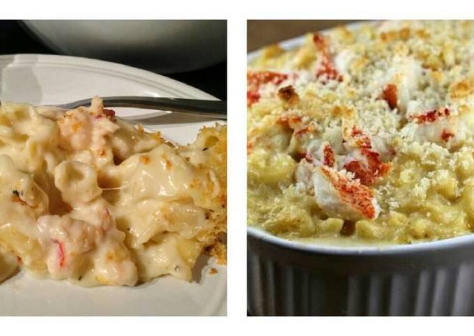 Baked Seafood Mac n Cheese