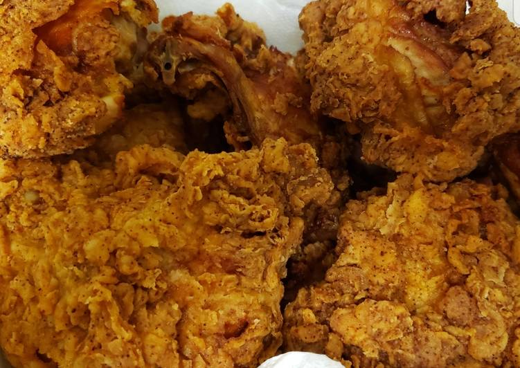 Recipe of Any-night-of-the-week Sharon's Crispy fried chicken