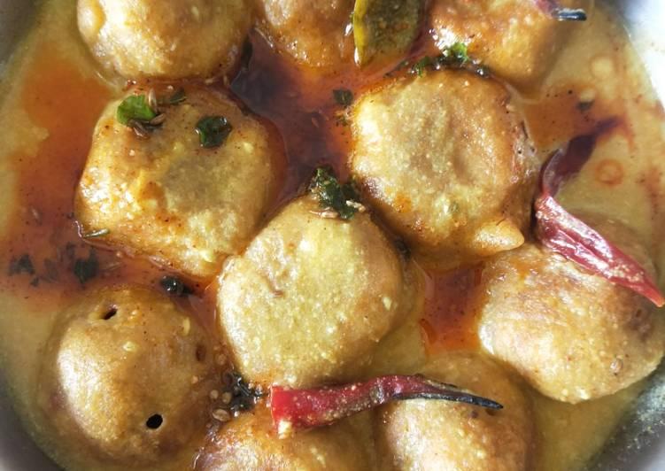 10 Minute How to Prepare Homemade Pakoda kadhi