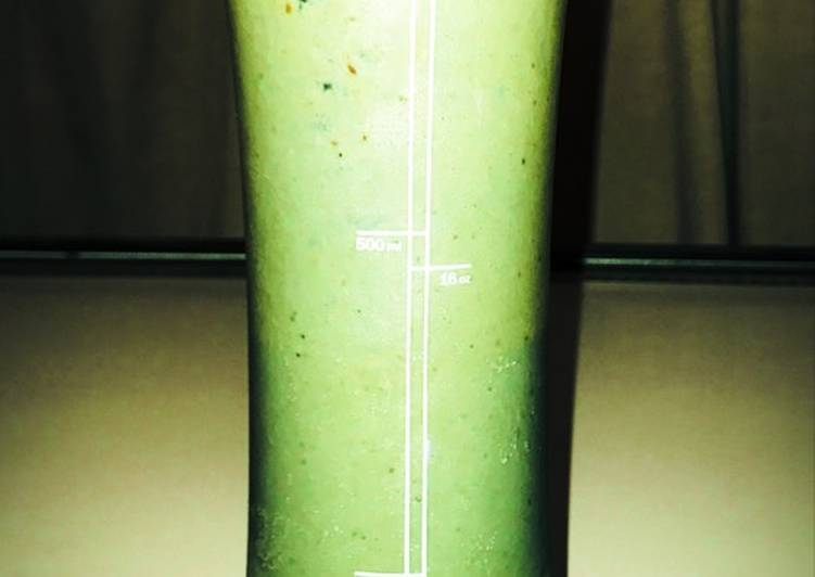 25 Minute Recipe of Quick Green protein smoothie