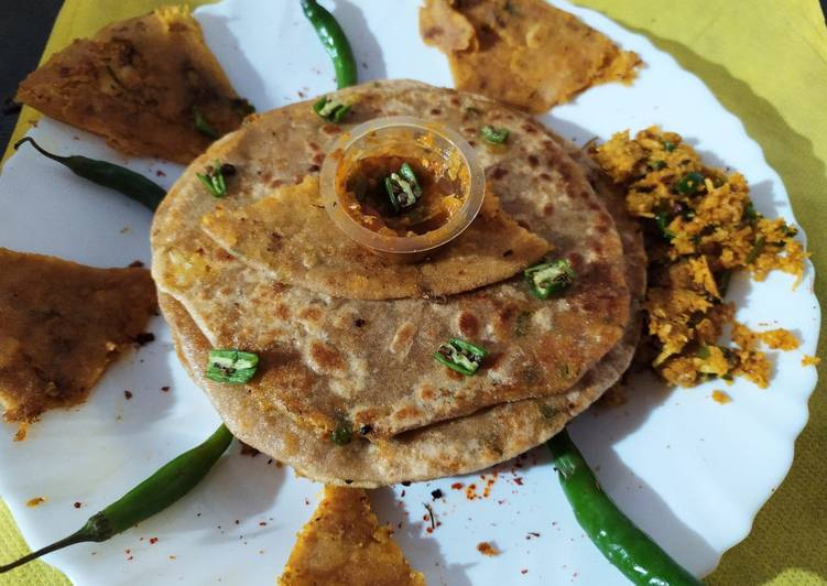 Try Using Food to Elevate Your Mood Cauliflower paratha