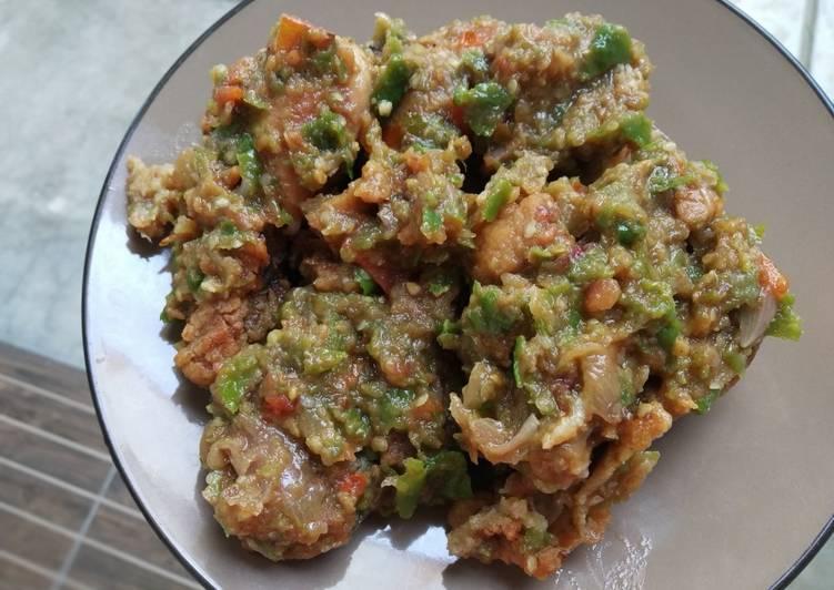 Ayam geprek sambal ijo hashtag#5 resepterbaruku