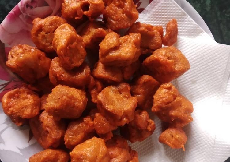Recipe of Favorite Soya chunks pakora