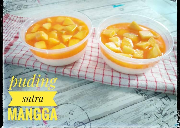 Puding Sutra Mangga