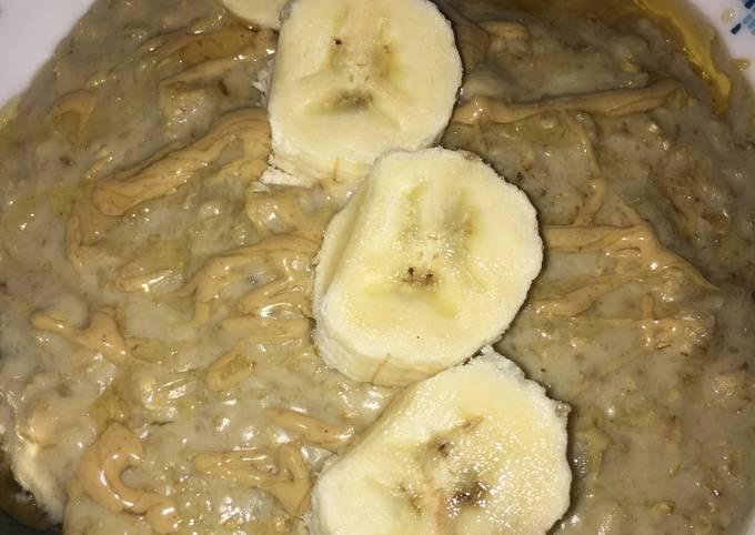 Porridge με μπανάνα (Πόριτζ), Κόλαση 😍