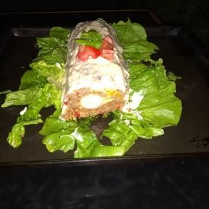 Pan de carne inspirado en varias receta y aquí está!??