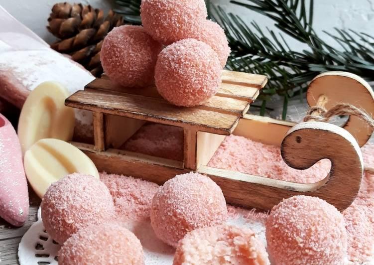 Comment Préparer Des ☆Truffes au Chocolat☆ Noël Girly