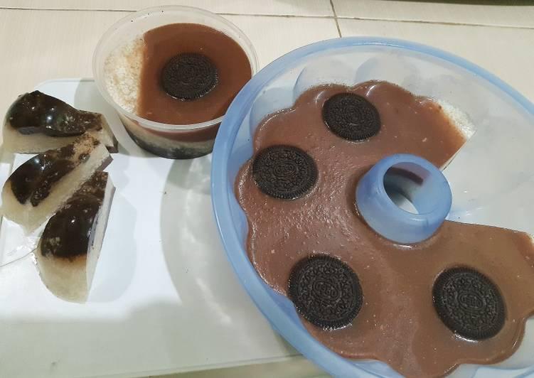 Agar- Agar Oreo susu coklat