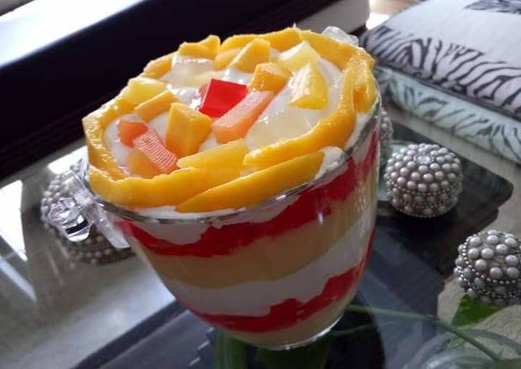 Recipe of Quick Mango Dessert