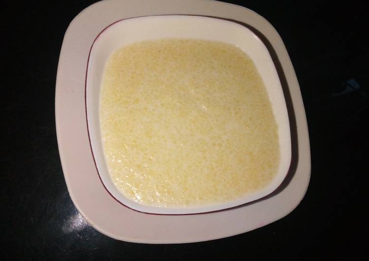 How to Make Speedy Couscous pudding