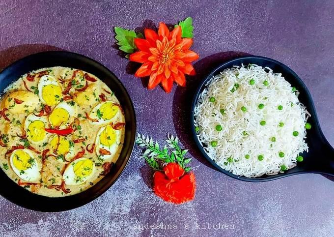 Shahi Dim er Korma or Egg Korma