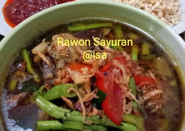 #101 Rawon Sayuran