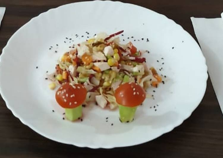 Learn How to Elevate Your Mood with Food Crunch Munch Salad