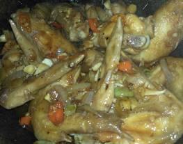 Ayam saus lada hitam (saori lada hitam)