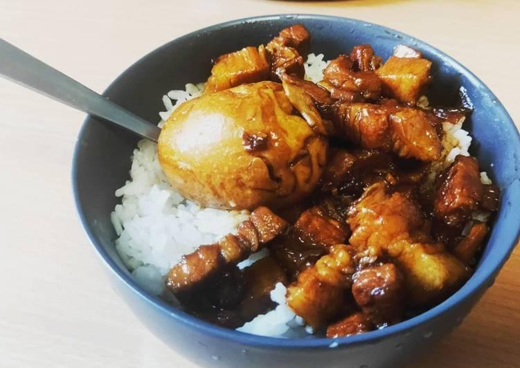 Easiest Way to Prepare Ultimate Taiwanese braised pork rice