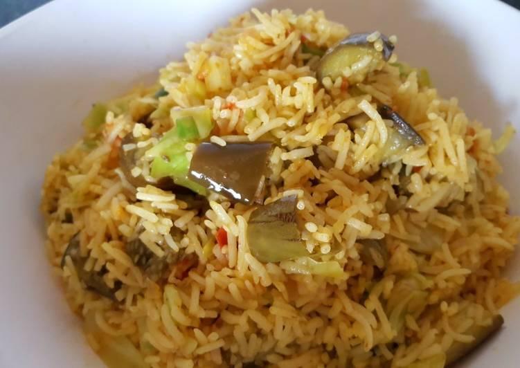 Nasi sayur biryani (#PR_BukanNasiBiasa)