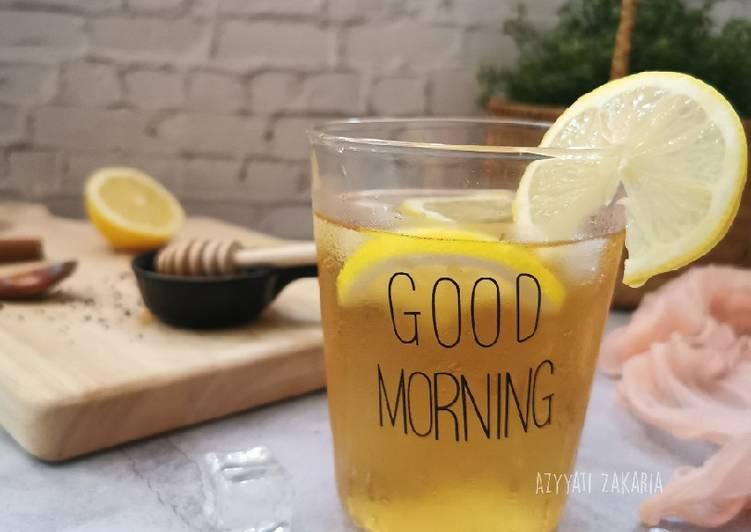 Ice Lemon Tea - resepipouler.com