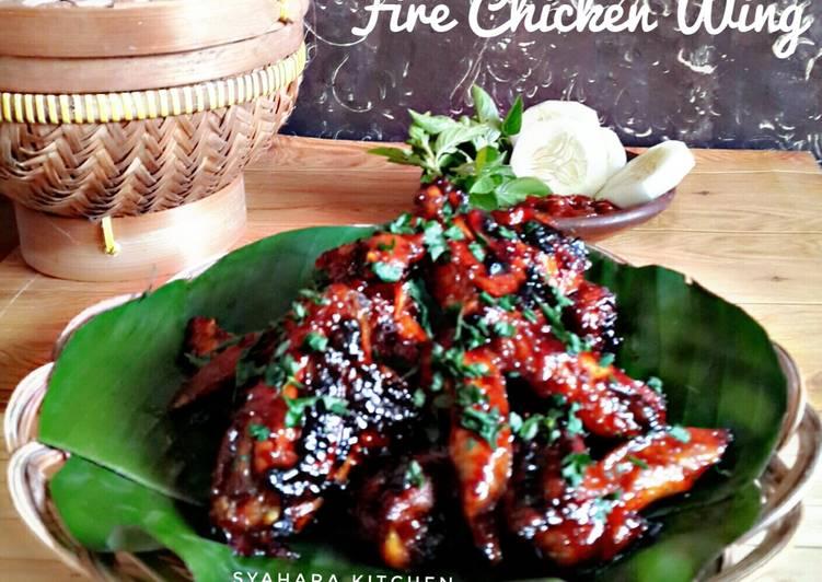 - 4 Fire Chicken Wing