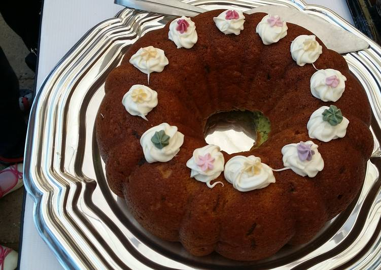 Recipe of Homemade Shortcut Pistachio Pudding Bundt Cake