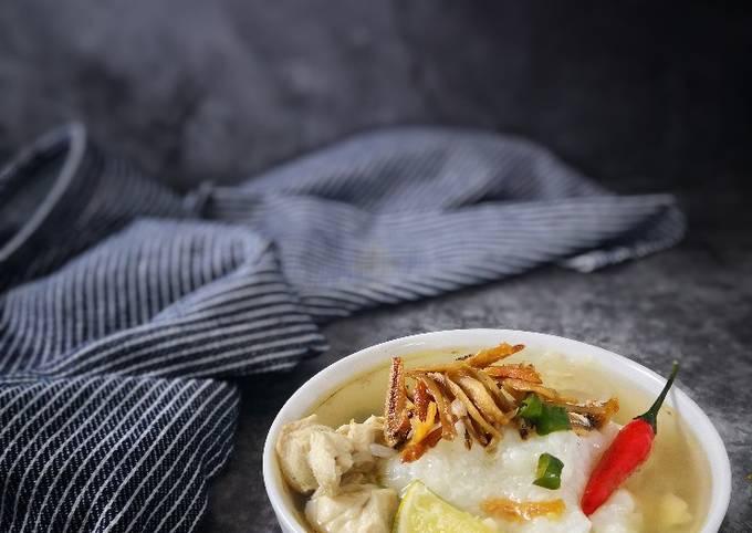 Nasi Air (Bubur Nasi dengan Sup)