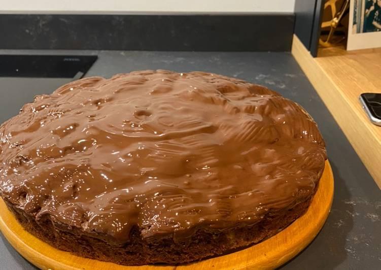 Torta pere e cioccolato senza lattosio