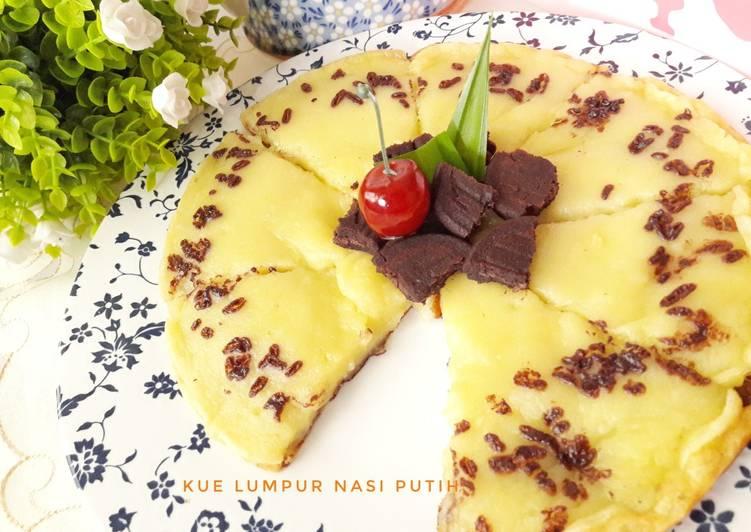 Kue Lumpur Nasi Putih rasa mirip kentang persis 😄