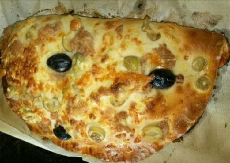Pizza soufflé