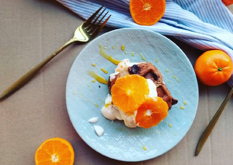 Recipe: Perfect Citrus Hot Cross Bun