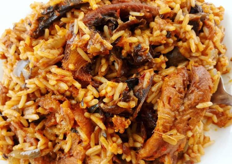 Emergency jollof rice