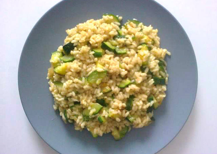 Simple Way to Make Speedy Risotto with zucchini