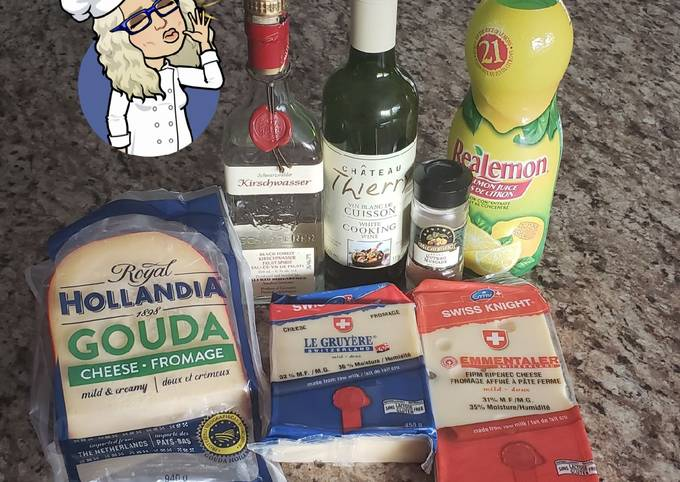 Cheese 🧀 Fondue