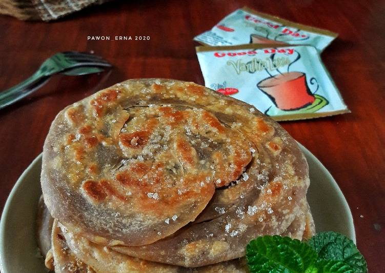 Resep Roti maryam vanila latte gampang