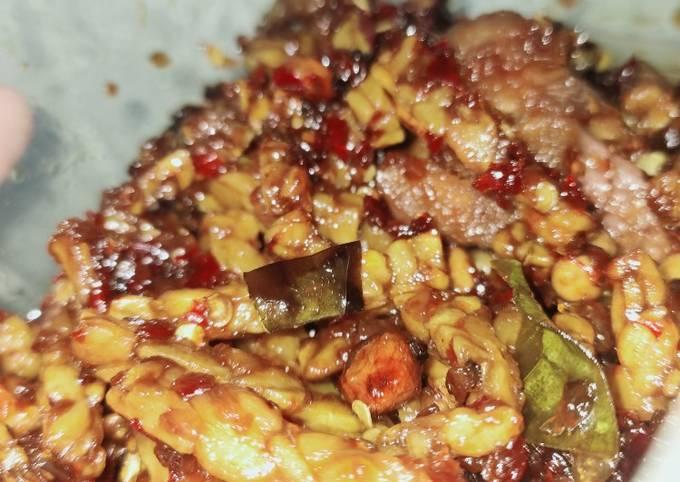 orek tempe kacang kering - resepenakbgt.com