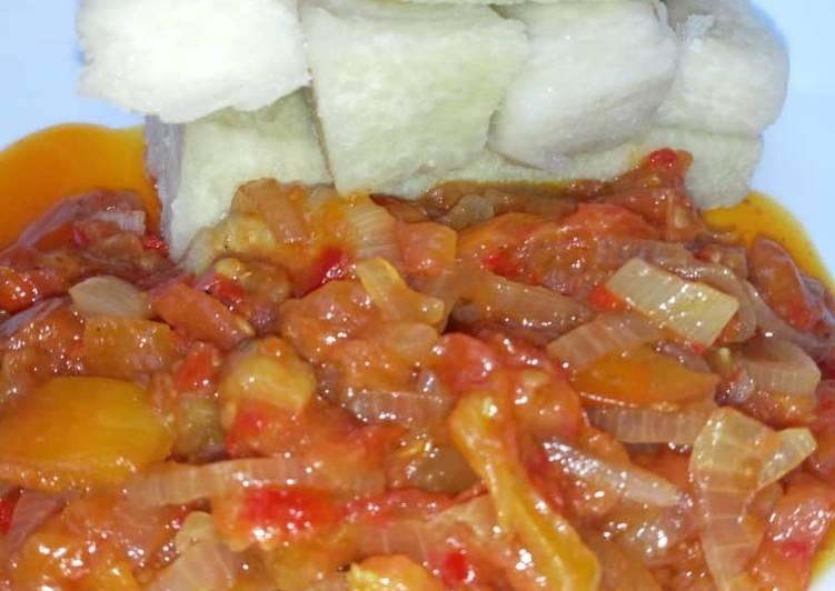 25 Minute Recipe of Award Winning Boiled yam