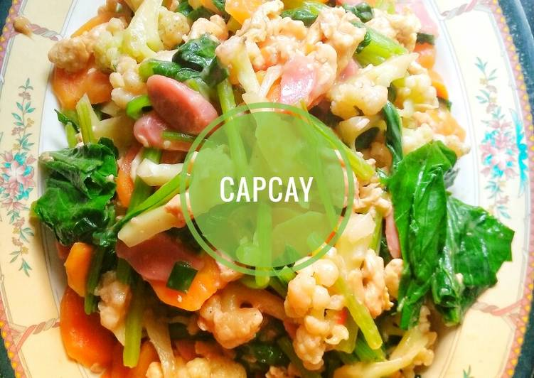 Easiest Way to Make Appetizing Cap Cay Kuah