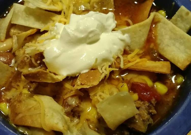 Steps to Make Most Popular Taco Soup