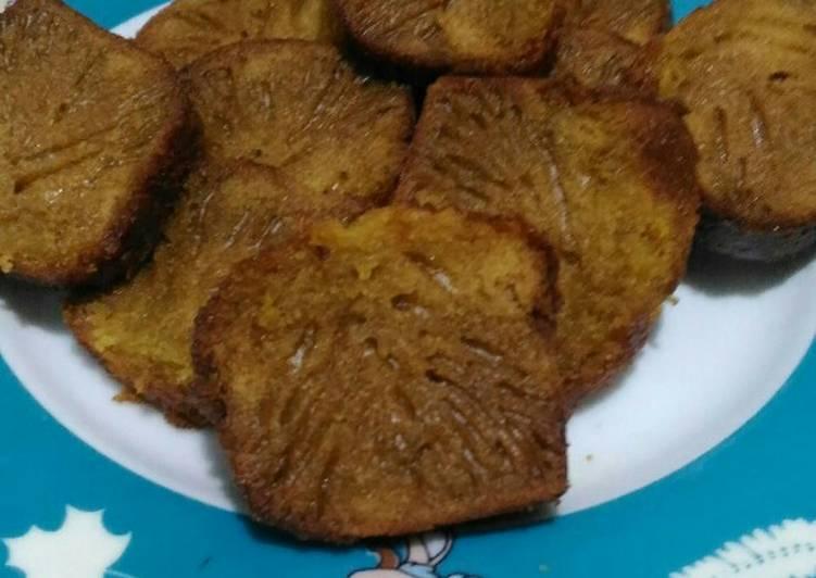 resep menyajikan Bolu Karamel alias Kue Sarang Semut - Sajian Dapur Bunda