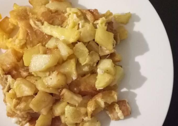 Potato and Eggs Lebanese Style (Batata wa Bayd) *Vegetarian
