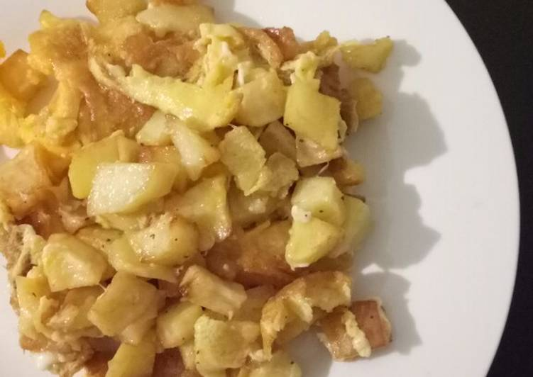Recipe: Appetizing Potato and Eggs Lebanese Style (Batata wa Bayd) *Vegetarian
