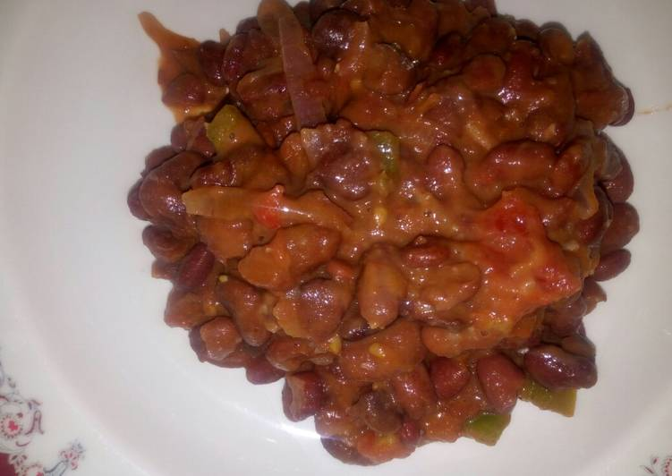 Recipe of Top-Rated Beans curry