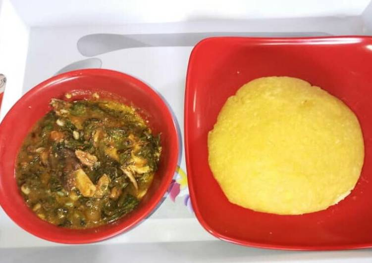 The Best Soft and Chewy Dinner Easy Special Oha soup with Eba