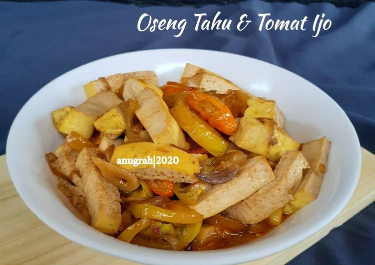 #162 Oseng Tahu & Tomat Ijo