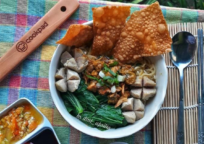 Resep Mie Ayam Favorit Oleh Dini Apsilia Cookpad