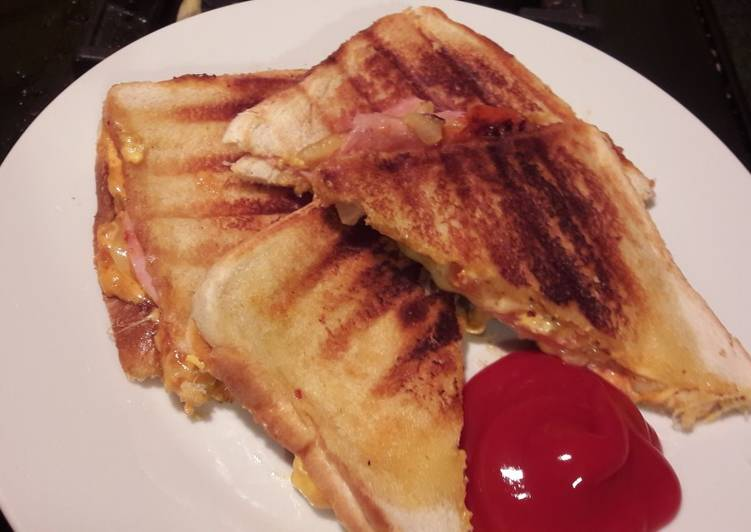Easiest Way to Make Delicious My late night toastie